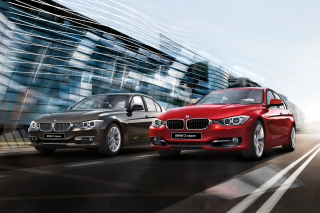 BMW 3 Series Background for Android, iPhone and iPad
