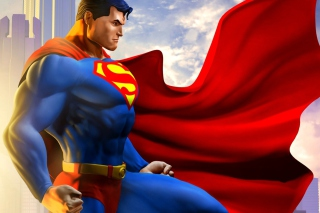 Free Man Of Steel Picture for Android, iPhone and iPad