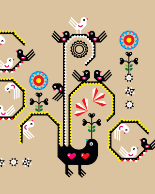 Embroidery and Pattern - Obrázkek zdarma pro Nokia Lumia 820