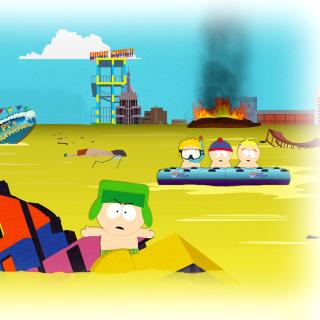 South Park, Stan, Kyle, Eric Cartman, Kenny McCormick - Obrázkek zdarma pro iPad 3