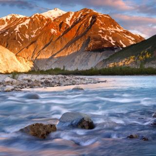 Canada Lake - Obrázkek zdarma pro iPad mini 2