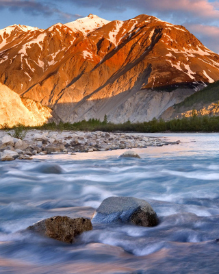 Canada Lake - Obrázkek zdarma pro Nokia Asha 305