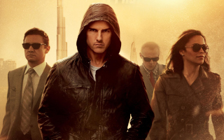 Mission: Impossible - Ghost Protocol Background for Android, iPhone and iPad