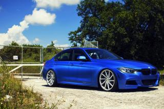 BMW F30 335i M Sport with Vossen CVT - Obrázkek zdarma pro Samsung Galaxy Note 2 N7100