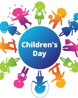 Childrens Day - Obrázkek zdarma pro Nokia Asha 203