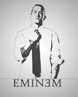Eminem - Obrázkek zdarma pro Nokia Asha 310