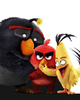 Angry Birds the Movie 2016 - Obrázkek zdarma pro iPhone 6 Plus