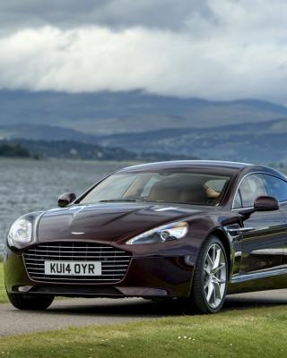 Aston Martin Rapide S on Coast - Obrázkek zdarma pro 352x416