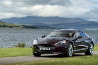 Aston Martin Rapide S on Coast - Obrázkek zdarma pro 1152x864