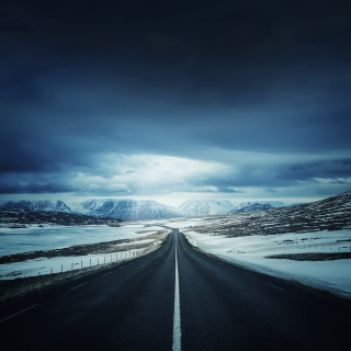 Icelands Ring Road - Obrázkek zdarma pro iPad 2