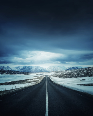 Icelands Ring Road - Fondos de pantalla gratis para LG T325 Cookie