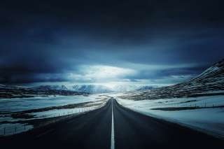 Free Icelands Ring Road Picture for Android, iPhone and iPad