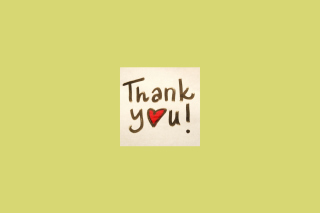 Thank You Wallpaper for Android, iPhone and iPad