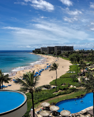 Hawaii Boutique Luxury Hotel with Spa and Pool - Obrázkek zdarma pro iPhone 6 Plus