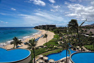 Hawaii Boutique Luxury Hotel with Spa and Pool Wallpaper for Android, iPhone and iPad