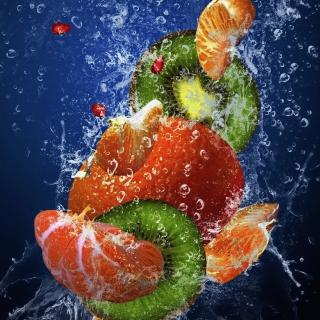 Fresh Fruit Cocktail - Obrázkek zdarma pro iPad mini