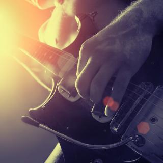 Rock Music - Obrázkek zdarma pro iPad