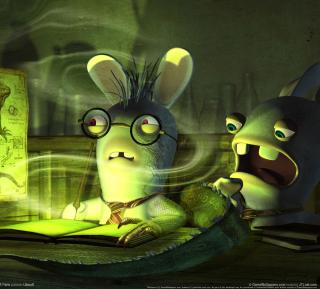 Rayman Raving Rabbids 2 - Obrázkek zdarma pro iPad mini