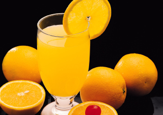 Fresh Orange Juice Picture for Android, iPhone and iPad