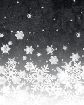 Snowflakes - Obrázkek zdarma pro Nokia Asha 305