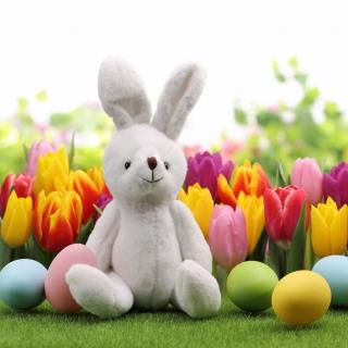 Happy Easter Wish - Obrázkek zdarma pro 2048x2048