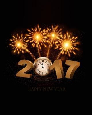 2017 New Year fireworks - Obrázkek zdarma pro 320x480