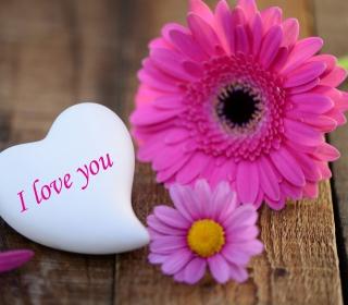 I Love You Heart - Obrázkek zdarma pro 320x320