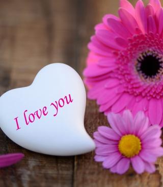 I Love You Heart - Obrázkek zdarma pro Nokia Asha 202