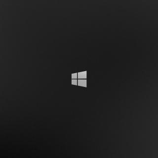 Windows 8 Black Logo - Obrázkek zdarma pro iPad
