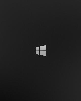Windows 8 Black Logo - Obrázkek zdarma pro 320x480