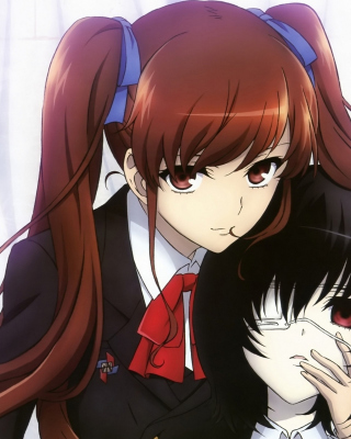 Izumi Akazawa and Mei Misaki in Another - Obrázkek zdarma pro Nokia C6-01