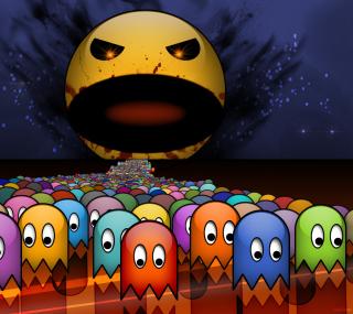 Pacman - Obrázkek zdarma pro 320x320