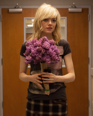 Emma Stone in Birdman - Obrázkek zdarma pro 128x160