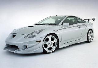 Toyota Celica Background for Android, iPhone and iPad