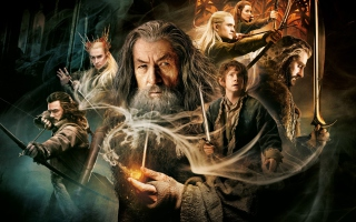 The Hobbit - Desolation Of Smaug Background for Android, iPhone and iPad