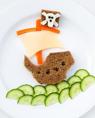 Creative Food - Obrázkek zdarma pro Nokia X6