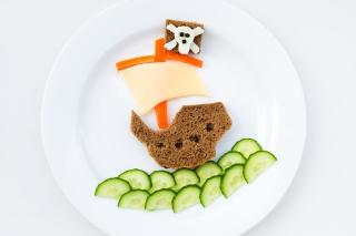 Creative Food - Obrázkek zdarma pro Sony Xperia Tablet S