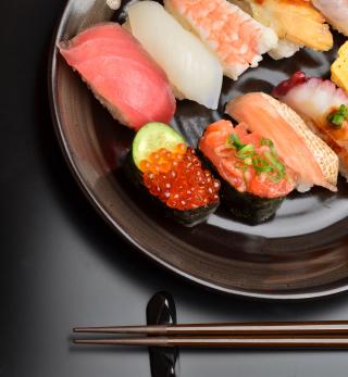 Sushi Plate - Obrázkek zdarma pro iPad 2