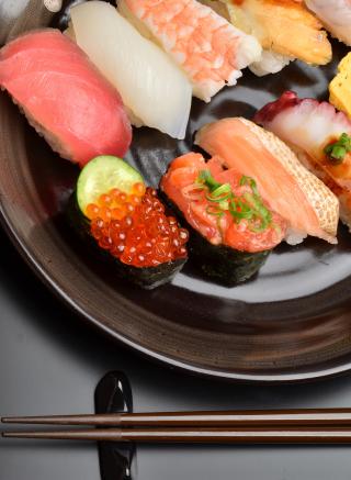 Sushi Plate - Obrázkek zdarma pro Nokia X1-01