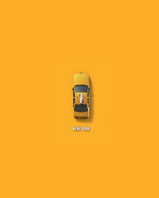 New York Cab - Obrázkek zdarma pro Nokia Asha 310