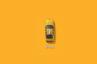New York Cab - Obrázkek zdarma pro 1200x1024