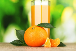 Free Healthy Orange Juice Picture for Android, iPhone and iPad