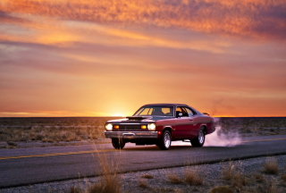 Free Plymouth Duster Picture for Android, iPhone and iPad