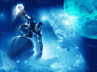 Free Silver Surfer Picture for Android, iPhone and iPad