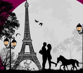 Paris City Of Love - Obrázkek zdarma pro 128x128