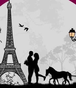 Paris City Of Love - Obrázkek zdarma pro iPhone 5C