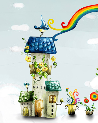 Cartoon World - Obrázkek zdarma pro Nokia Asha 203
