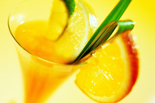 Cocktail with Orange Slice - Obrázkek zdarma pro Widescreen Desktop PC 1920x1080 Full HD