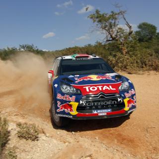 Sebastien Loeb - Citroen WRC - Obrázkek zdarma pro iPad Air