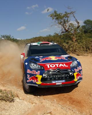 Sebastien Loeb - Citroen WRC - Obrázkek zdarma pro 360x480